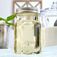 How to Make Simple Syrup and a Mint Julep Recipe