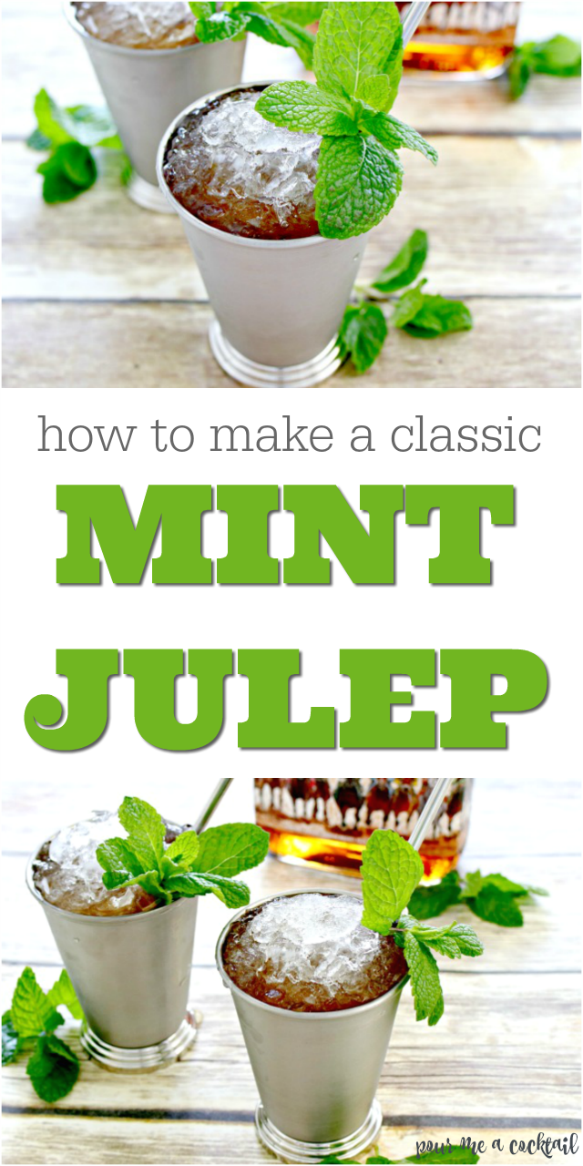 how to make a classic mint julep