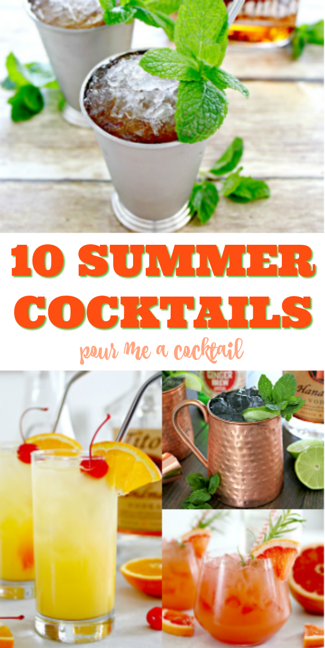 10 Easy Summer Cocktails