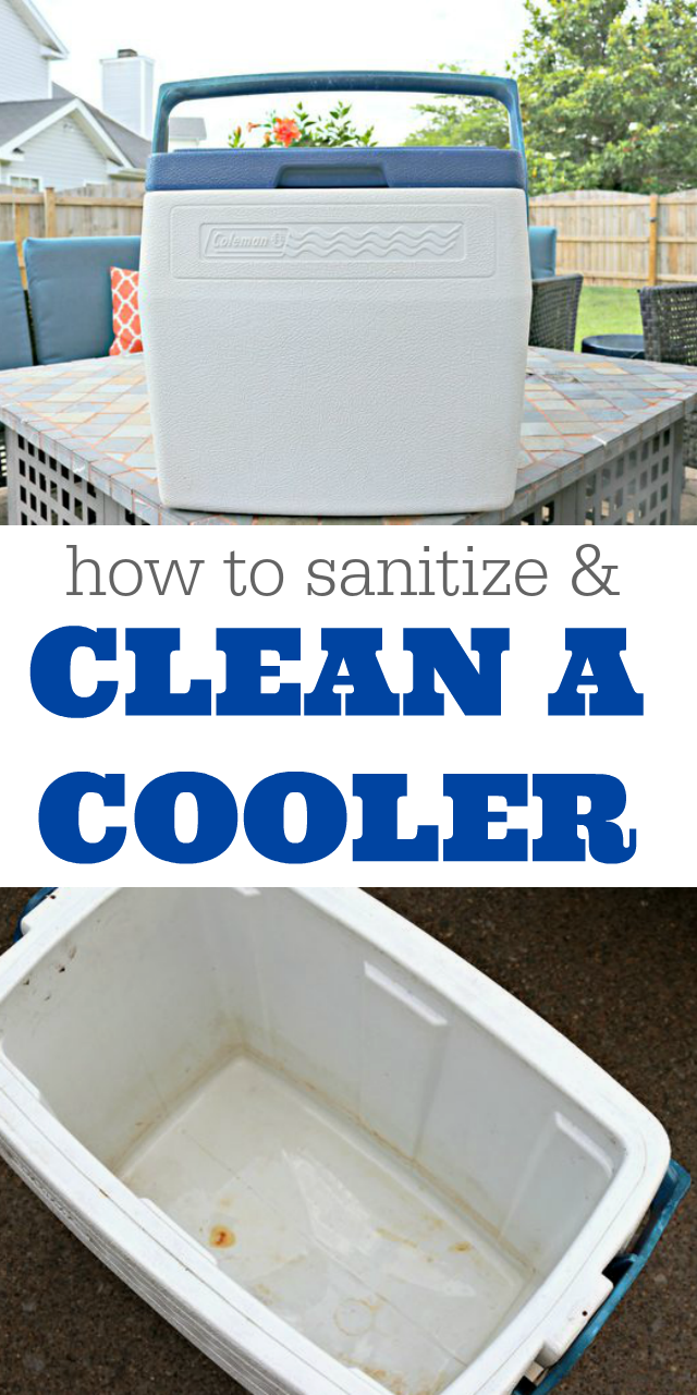 How to Clean and Sanitize a Cooler