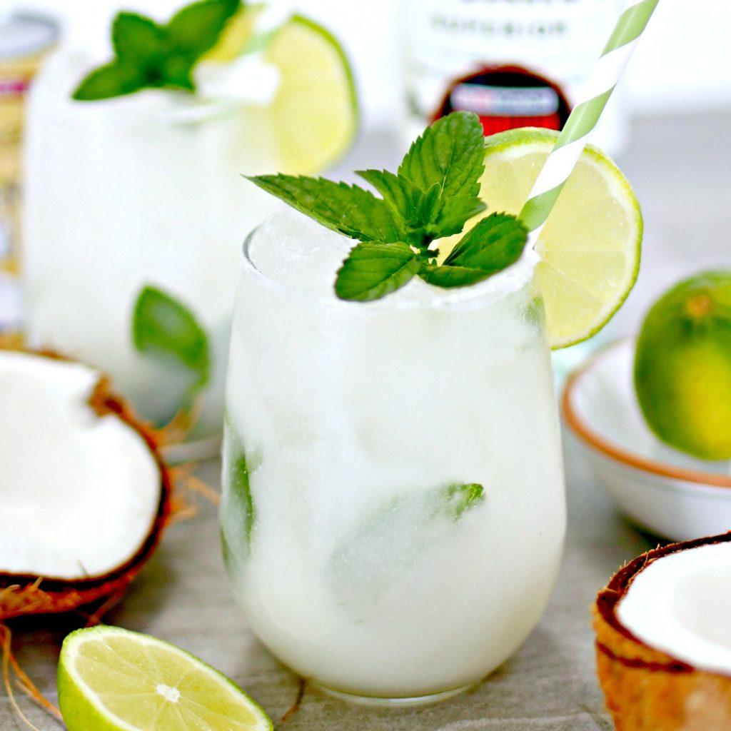 Coconut Mojito Cocktail
