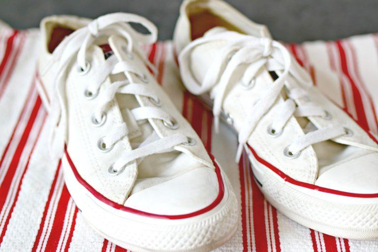 clean Converse shoes