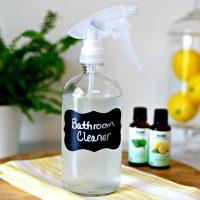 DIY Bathroom Cleaner Disinfectant Spray