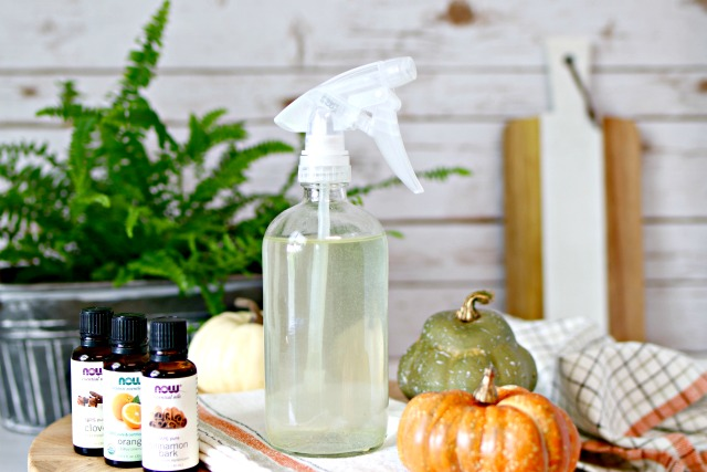 Homemade Fall Air Freshener with Essential Oils