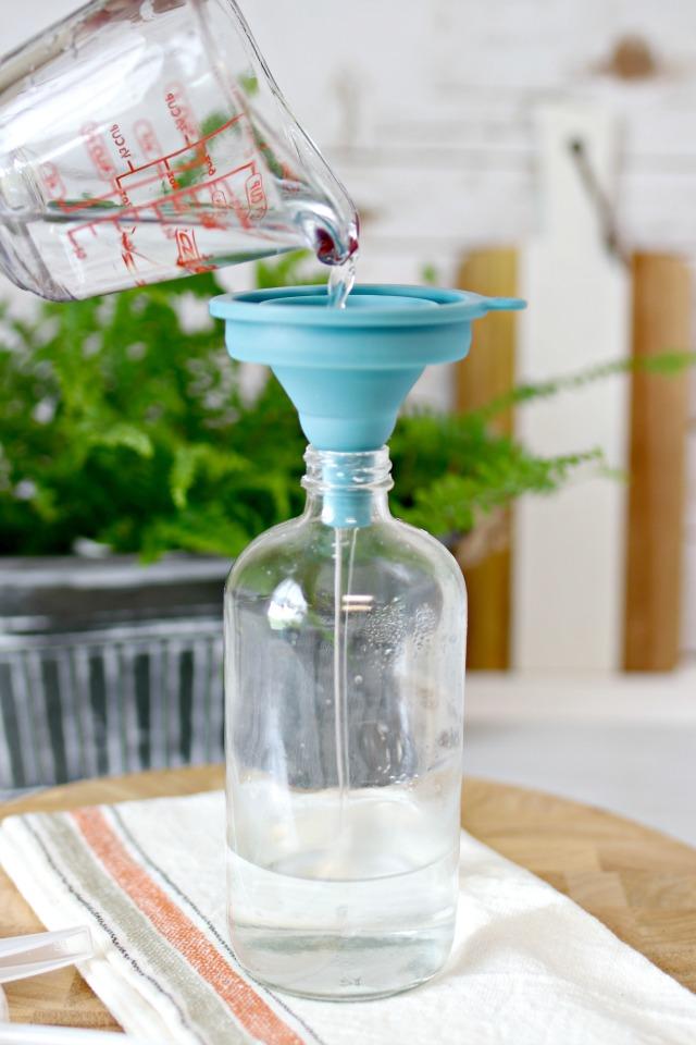 Making non-toxic air freshener