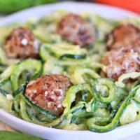 Zucchini Noodles Alfredo
