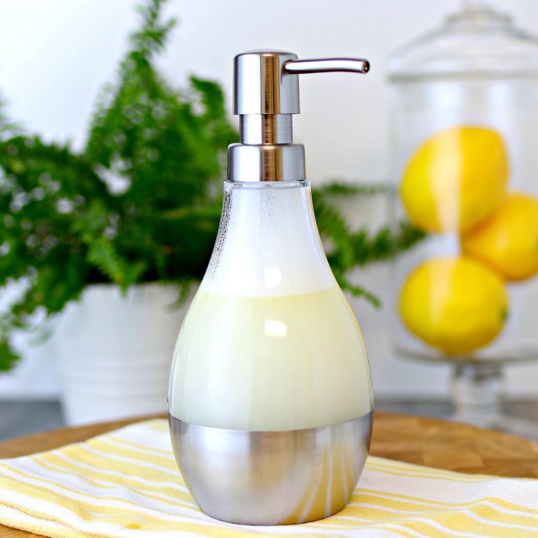 Easy 3 Ingredient DIY Dish Soap Recipe