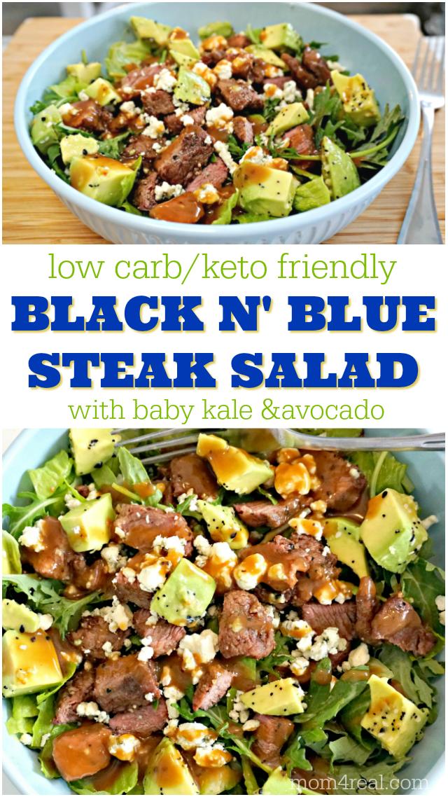 Black n' Blue Steak Salad