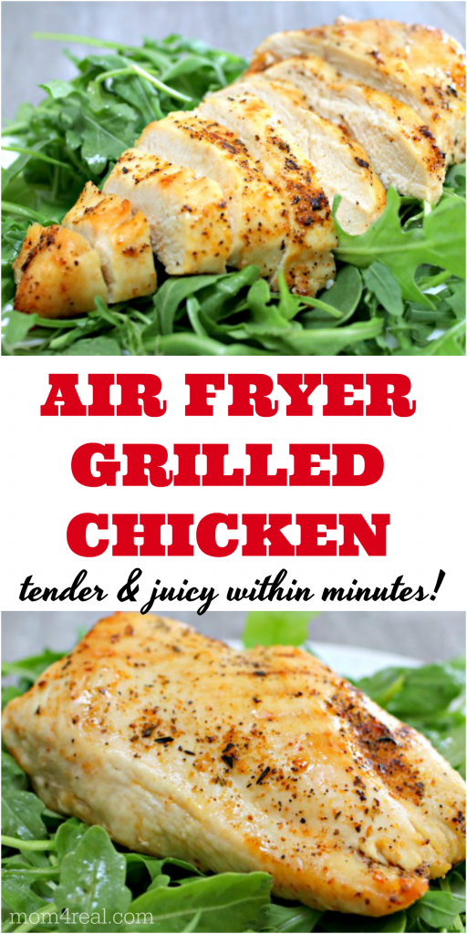 air fryer grilled chicken