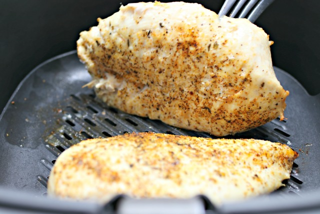 Easy Air Fryer Grilled Chicken Breasts