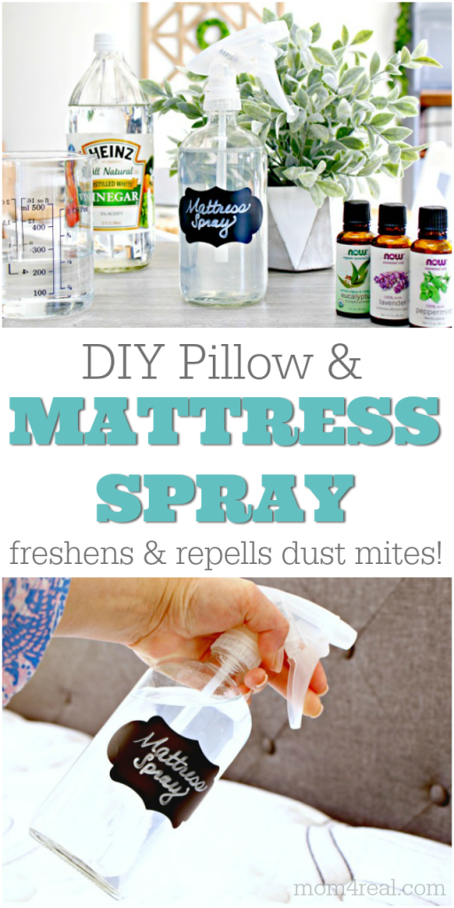 DIY pillow and mattress spray
