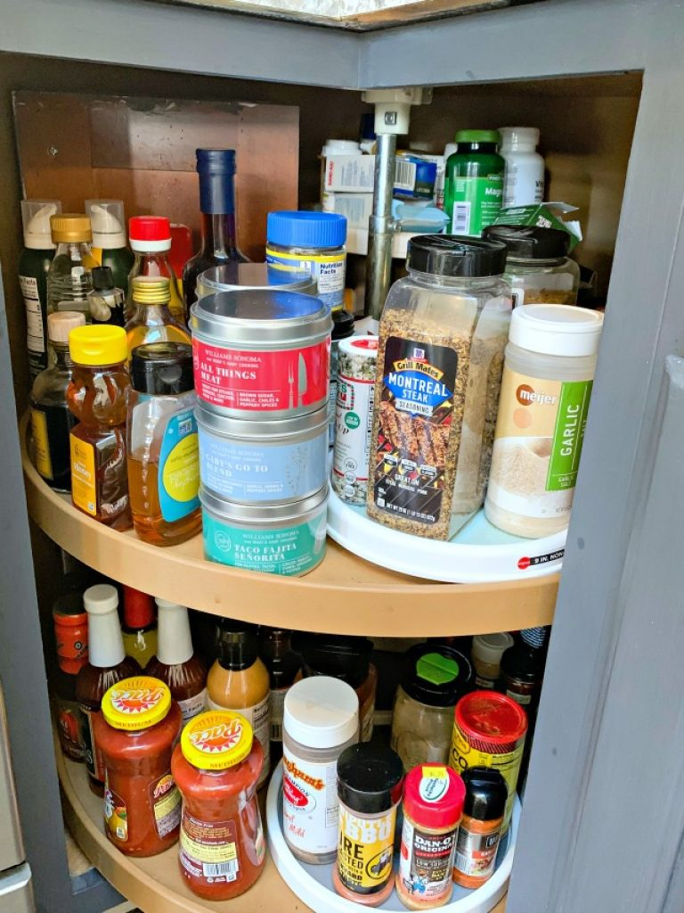 kitchen spice storage