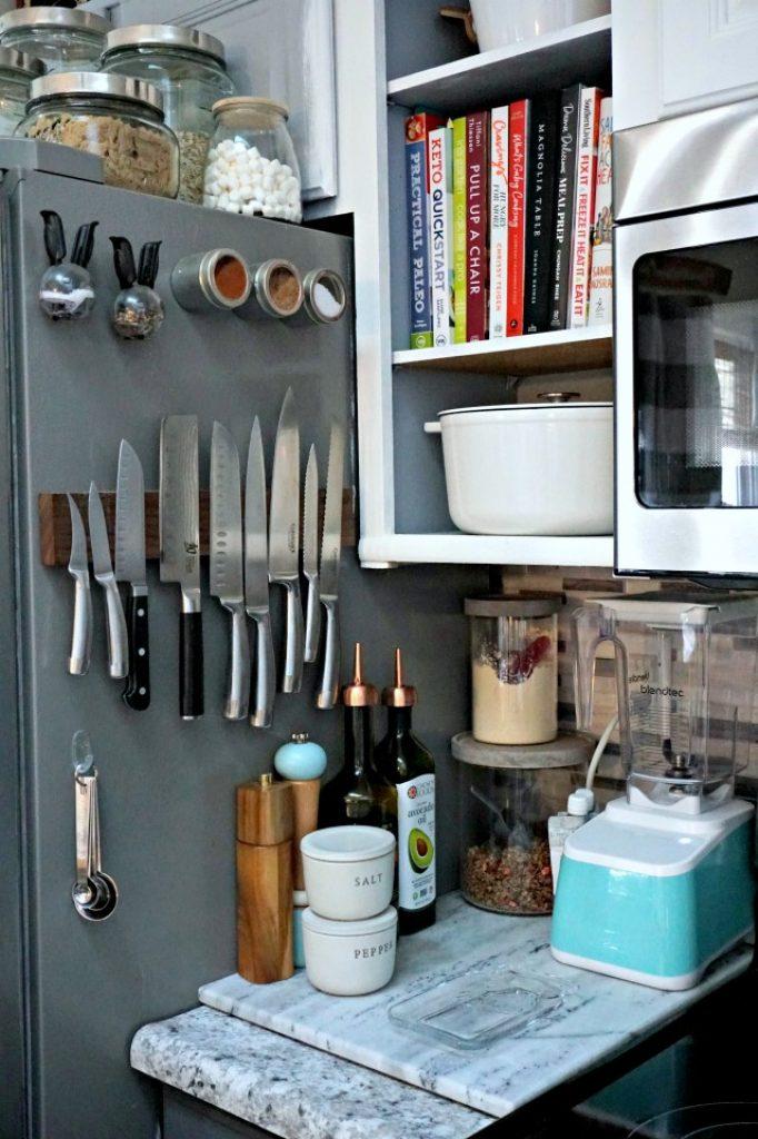 kitchen knife storage