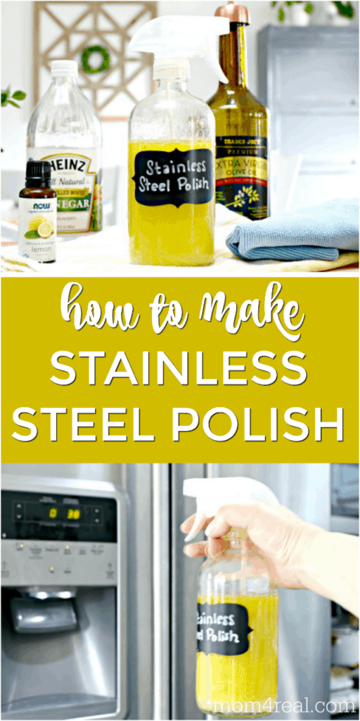 3 Ingredient Homemade Stainless Steel