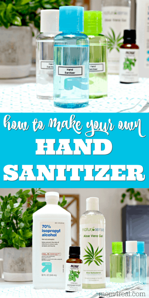 how to make your won hand sanitizer