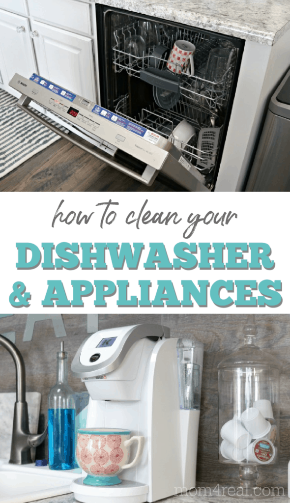 how to clean your dishwasher and small appliances