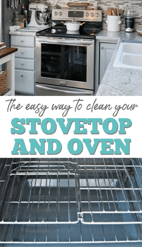 how to clean your stovetop and oven