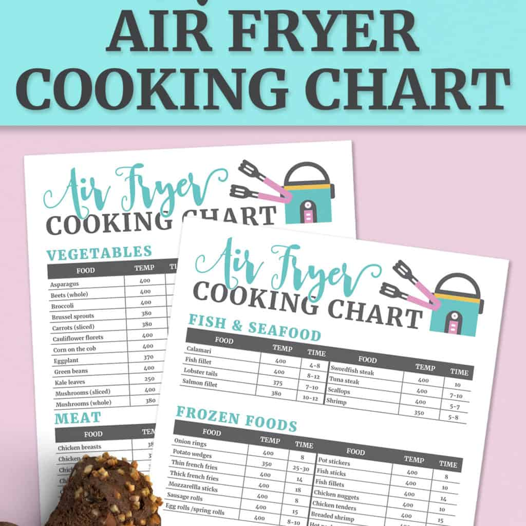 Air Fryer Cooking Times Chart