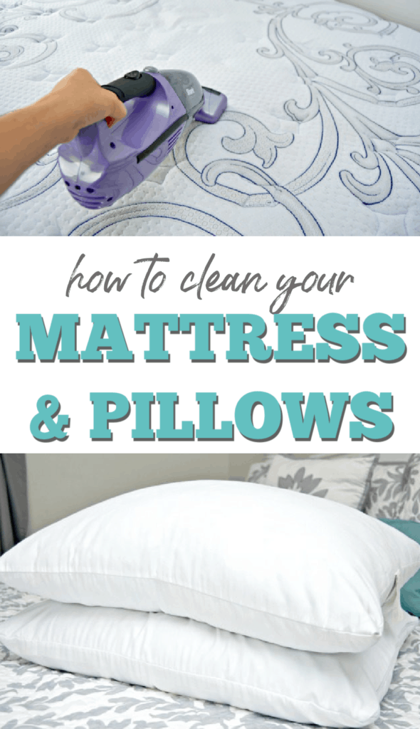 how to clean your bed pillows