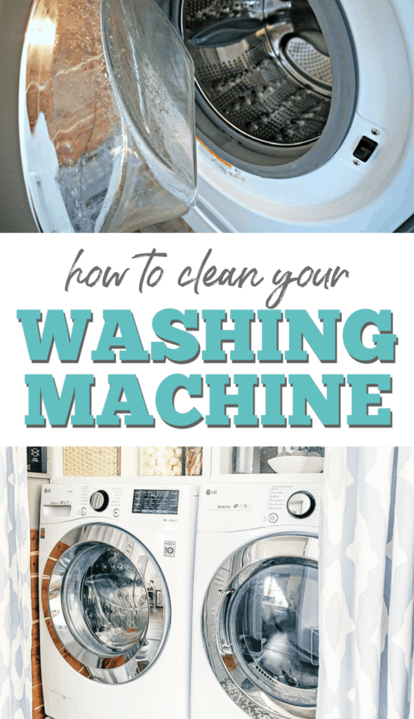 how to clean your washer and dryer